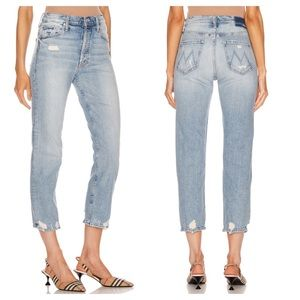 Mother Jeans The Tomcat True Confessions 27 Crop